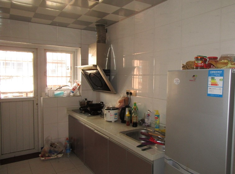 Typical English teacher kitchen in China